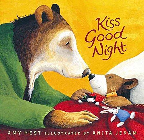 (Kiss Good Night Lap-Size Board Book (Sam Books) )