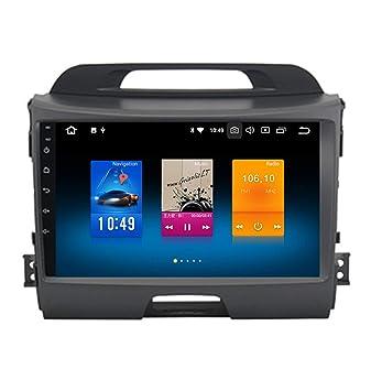 """Roverone 9 """"Android 6.0 Octa Core Autoradio coche GPS reproductor para KIA Sportage R"""