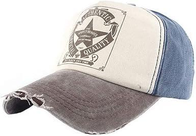 Gorras De Béisbol Vintage Star Denim para Moda Hombre Gorra De ...