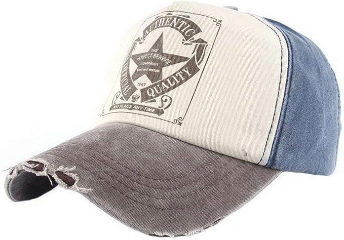 Gorras De Béisbol Vintage Star Denim para Hombre Béisbol Gorra ...