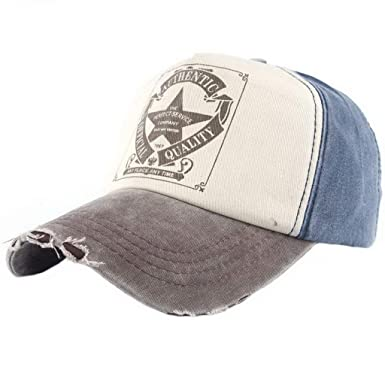 Gorras De Béisbol Vintage Star Denim para Hombre Gorra Tamaños ...