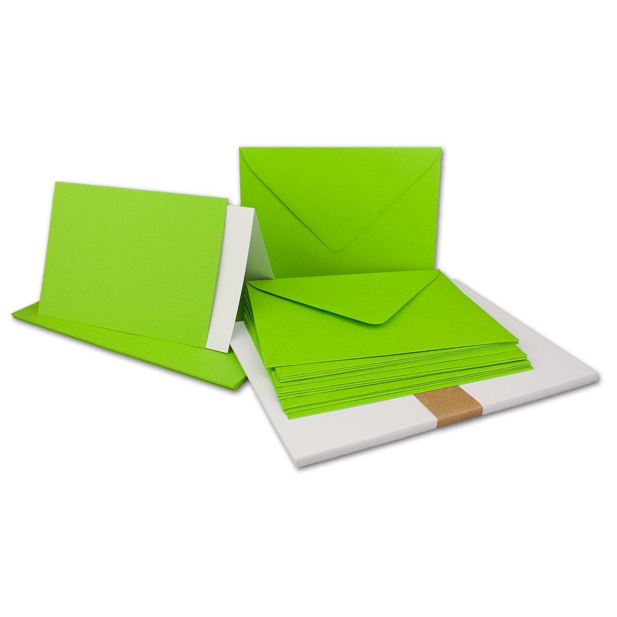 150 Sets - Faltkarten Hellgrau - - - DIN A5  Umschläge  Einlegeblätter DIN C5 - PREMIUM QUALITÄT - sehr formstabil - Qualitätsmarke  NEUSER FarbenFroh B07C31CKPK Kartenkartons Guter weltweiter Ruf 200068