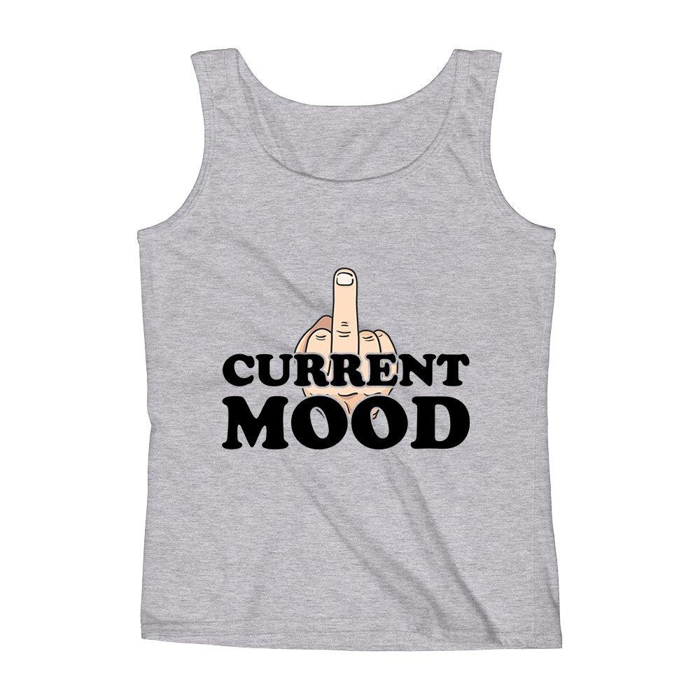 Mad Over Shirts Current Mood Vulgar Epic Best Meme Unisex Premium Tank Top