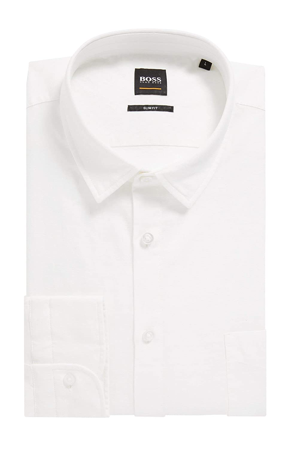 Boss Men Casual 50403725 Magenton/_1 Cotton Shirt