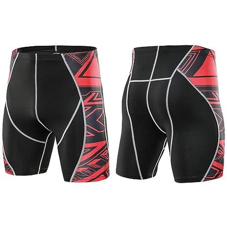 LHY RIDING Pantalones Cortos de Ciclismo para Hombre ...