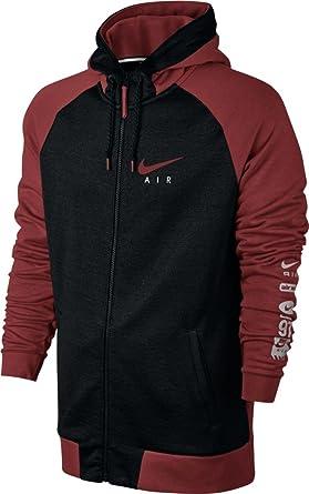 cfd856cccb19 Nike Mens M NSW Hoodie FZ BB AIR HYB 832148-674 XL - Dark Cayenne ...