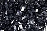 Fantasia Materials: 18 lbs Premium Grade Black Tourmaline Rods from China - 1/2'' to 1'' avg - Raw Rough Rocks and Stones, Crystals for Cabbing, Tumbling, Polishing, Wire Wrapping, Wicca & Reiki Healing