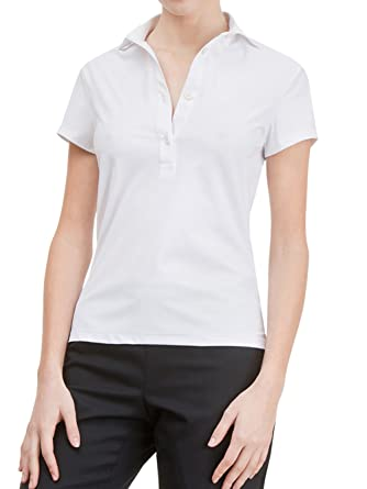 Wave Futura - Polo de Mujer Verona: Slim Fit, Transpirable, no ...