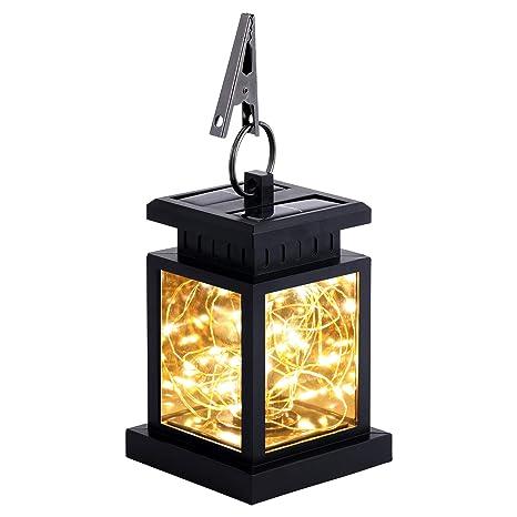 Amazon.com: Luces solares colgantes al aire libre ...