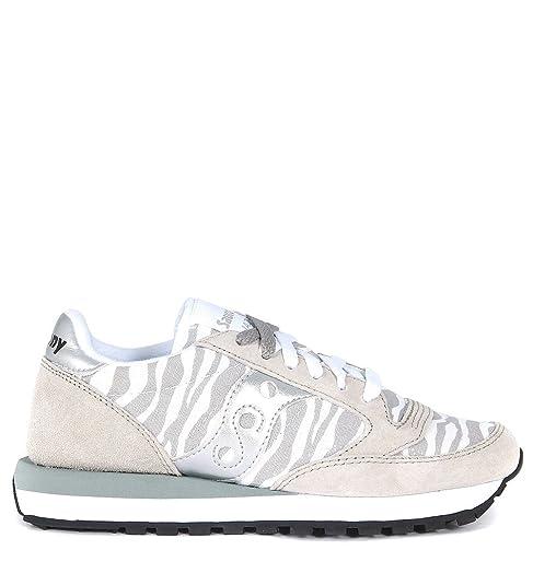 Suede Sneaker Zebrato E Edition Limited Saucony Grigio Jazz Tessuto aInwwH