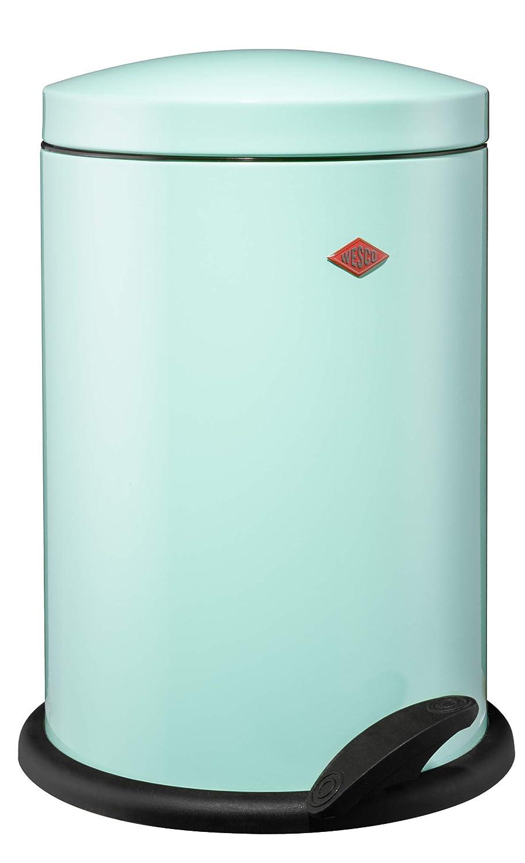 Papelera para Reciclaje Color Plateado 2 Compartimentos de 10 litros Wesco