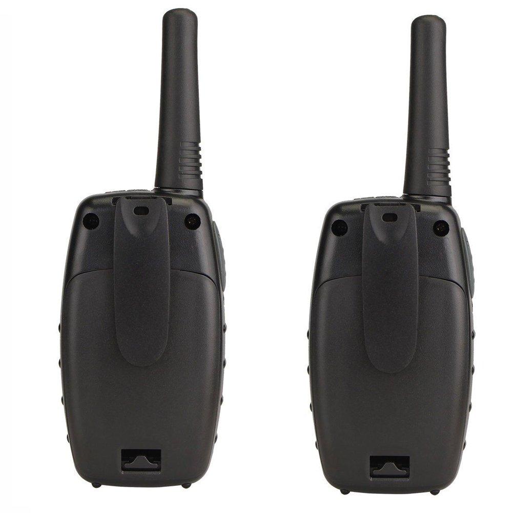 Kids Walkie Talkies YEOOM Handheld 22 Channel 0.5 W FRS/GMRS Radio 3KM Distance 2 Way Radios Rechargeable Radios Outdoor Walkie Talkie (Orange, Pack of 2)