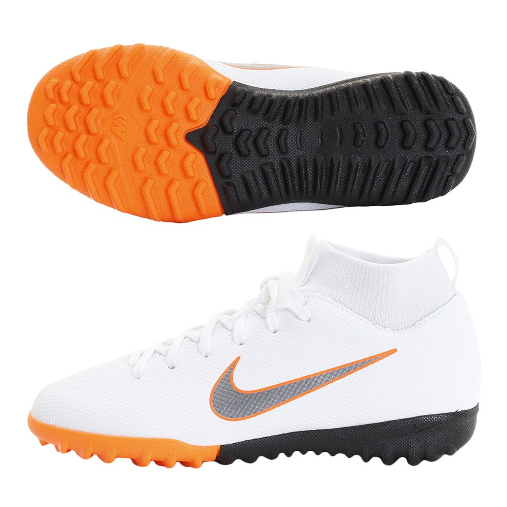 Nike Mercurial Superfly X 6 Academy TF Jr Ah7 Chaussures de Football Mixte