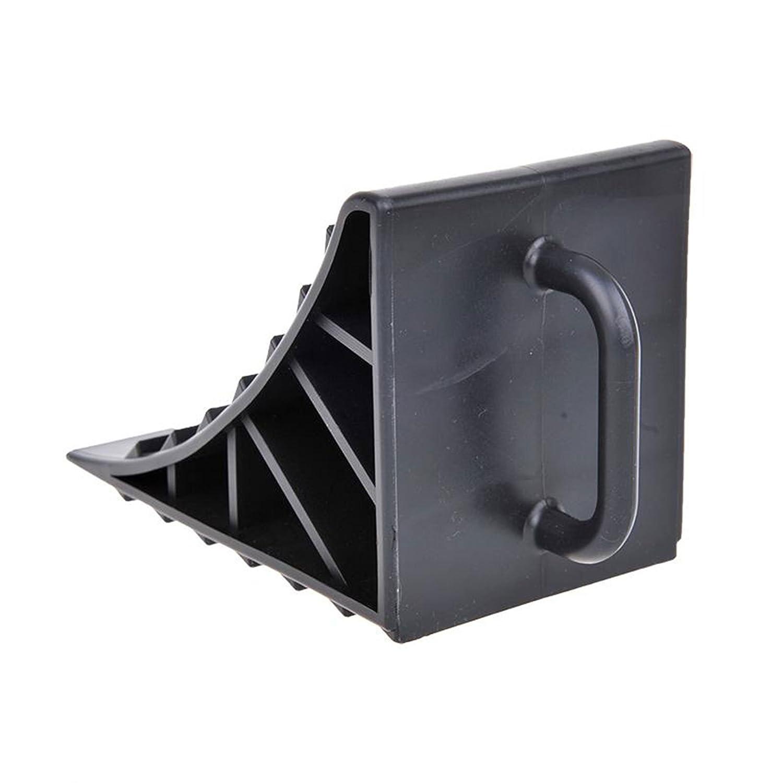 Calzo de estacionamiento ProPlus de plástico en color negro, juego de 2 unidades con mango para caravanas, casas móviles y remolques.: Amazon.es: Coche y ...