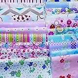 levylisa 200 PCS 4'' x 4''100% Precut Cotton Fabric
