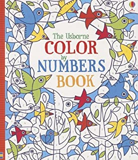 the usborne color by numbers book - Color By Number Books