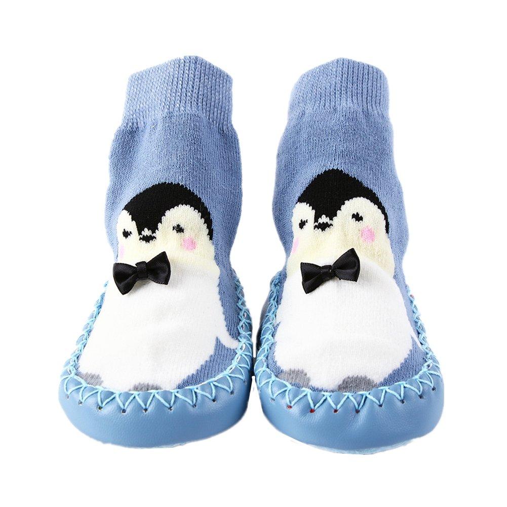 Kinder Socken Hüttenschuh Baby Anti Rutsch Boden Söckchen Niedlich Socke Kindersocken Mädchen und Junge Warm Sock WZ-10