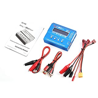 SaraHew74 Fit iMAX B6 Mini RC bilanciamento del Caricatore di Equilibrio 60W per LiPo Li-Ion Life Nimh Batteria RC Elicottero Auto