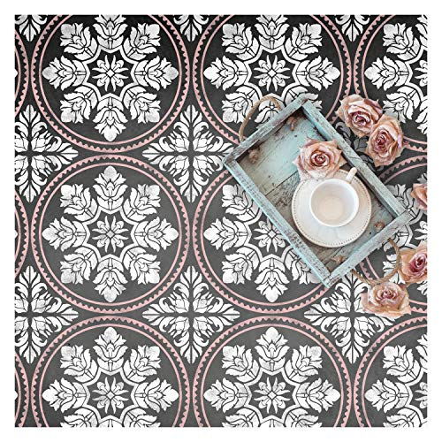 Edessa Tile Wall Furniture Floor Stencil for Painting XL