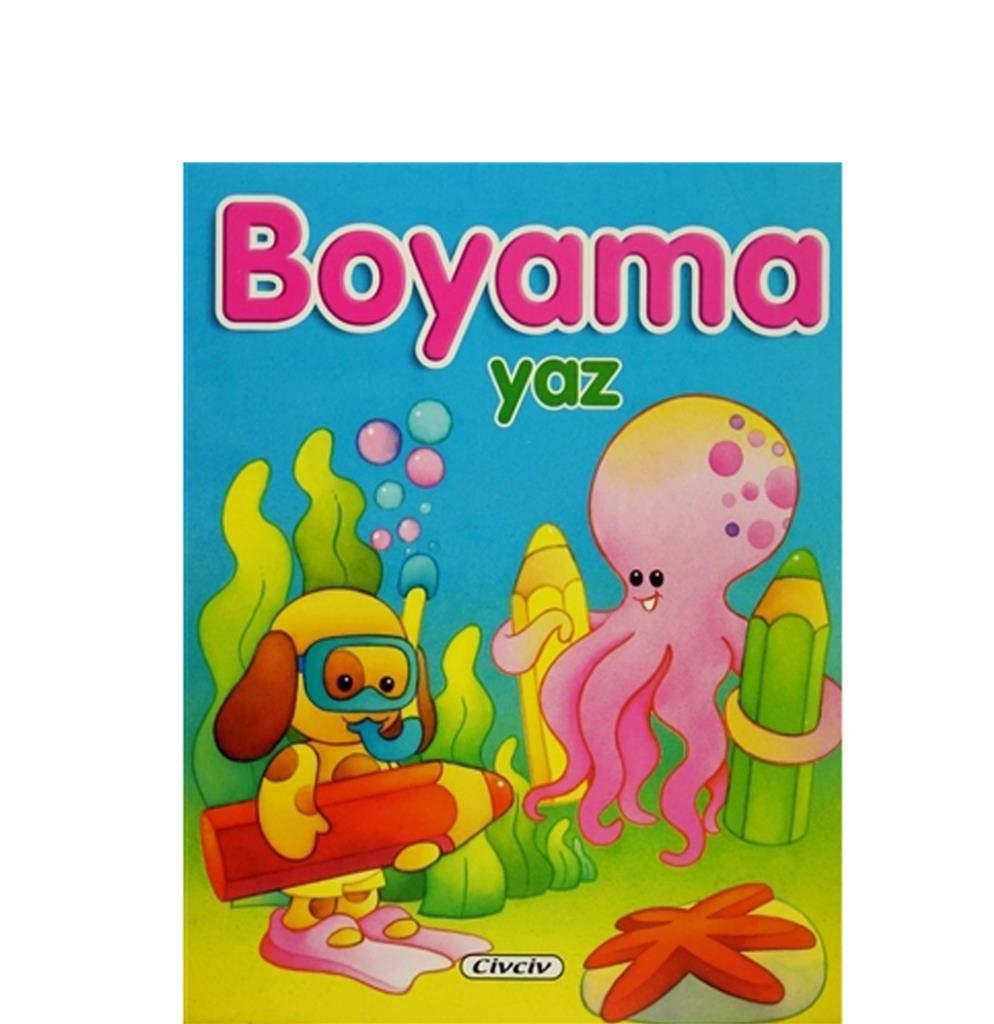 Mevsimler Boyama Yaz Kolektif Civciv Kitaplar Amazoncomtr