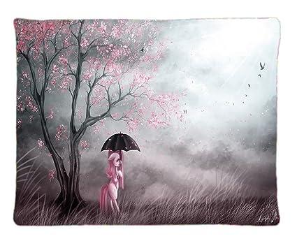 My Little Pony – con un paraguas personalizados con cremallera funda para cojín rectangular fundas de