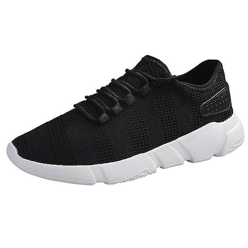 40718ea8fc655 Amazon.com | Nebwe Shoes Men Casual Sneakers Lace-Up Sport 2019 ...
