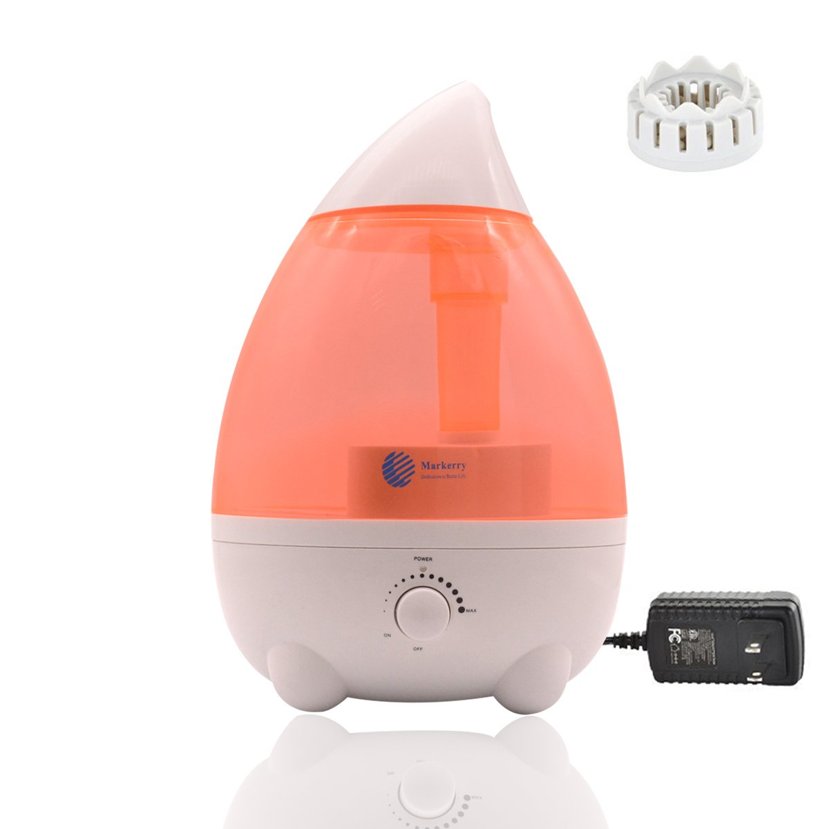 Humidifiers For Bedroom Baby Room Office Yoga Home Large Capacity 2.6L/0.68Gal Ultra Quiet With Waterless Auto Shut Off Protection Pink