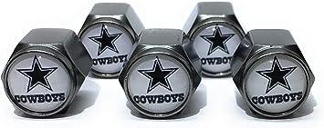 2 Piece Set Dallas Cowboys Screw Cap Covers