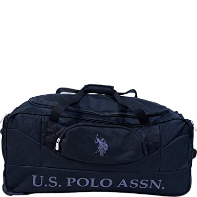 6d4c981f28a6 U.S. Polo Assn. 30in Deluxe Rolling Duffle Bag