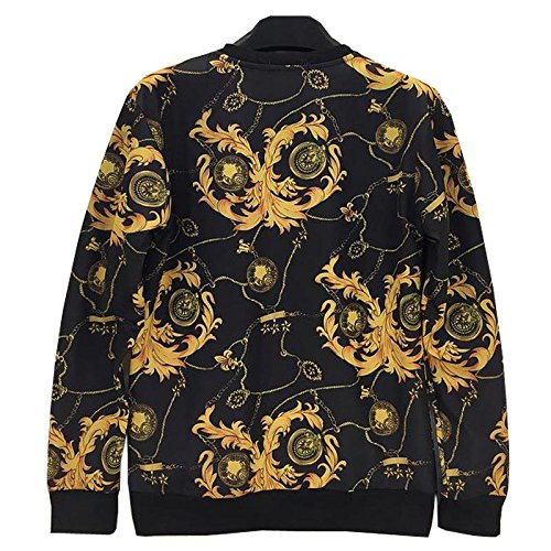 Amazon.com : TOPDCLSN Fashion Men/Women Sweatshirt 3D Funny Print Golden Flowers Striped Sudaderas Casual Hoodies Hoody Tops W224 : Sports & Outdoors