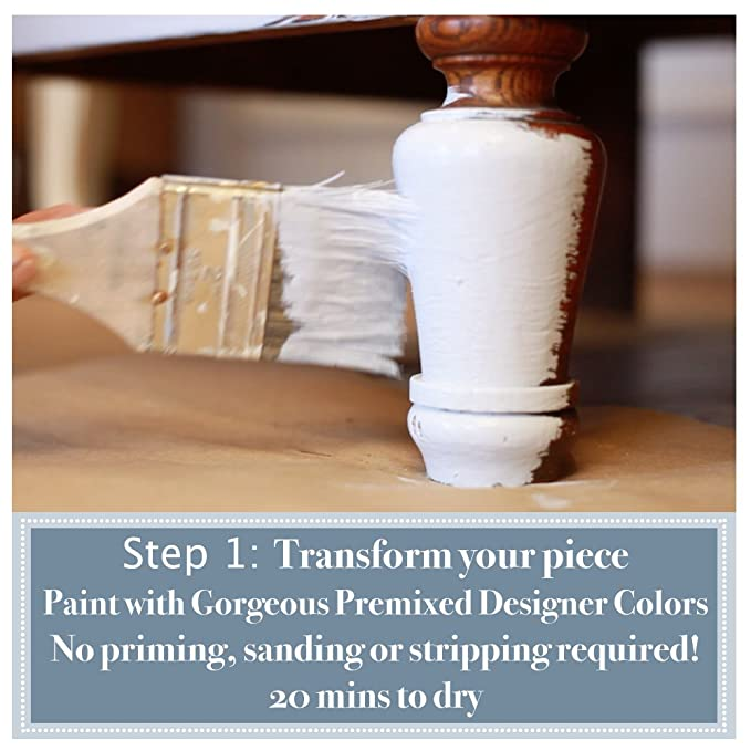 Amazon.com: Amitha Verma pintura con acabado efecto tiza ...