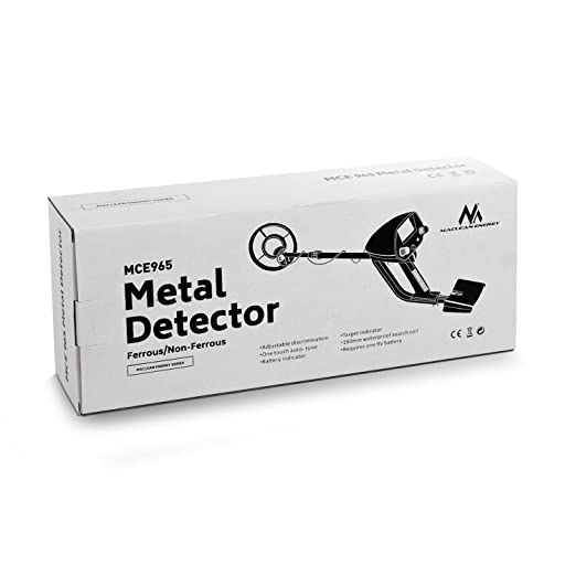Maclean - Mce965 - detector de metales con discriminador: Amazon.es: Industria, empresas y ciencia