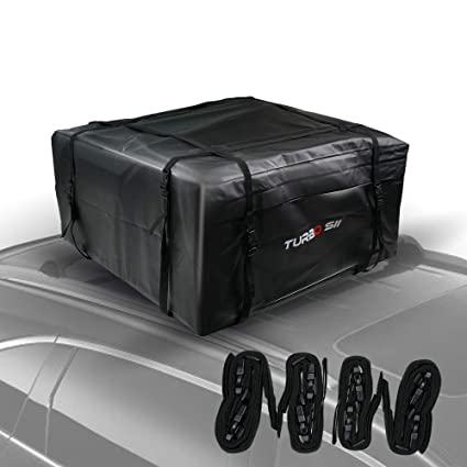 Car Roof Bag TURBO SII 100% Waterproof Storage Bag Roof Top Cargo Bag Non Slip