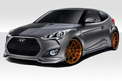 2012-2015 Hyundai Veloster Turbo Duraflex N Design Body Kit - 4 Piece