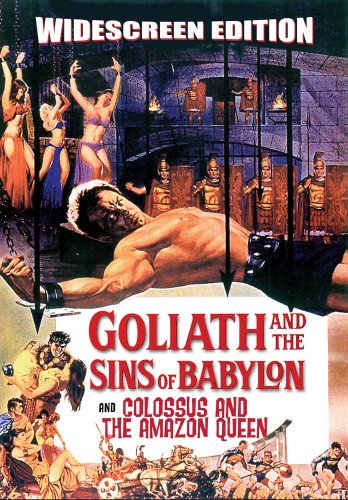 Goliath and the Sins of Babylon (Bonus Feature: Colossus and the Amazon Queen) (Colossus And The Amazon Queen compare prices)