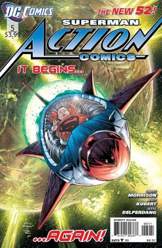 "Download Action Comics Issue 5 March 2012 ""Rocket Song"" (B00CH740PA) B00CH740PA"