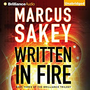Written in Fire Audiobook