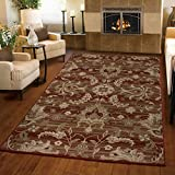 Orian Rugs Floral Barcley Multi Area Rug (5'3″ x 7'6″) For Sale