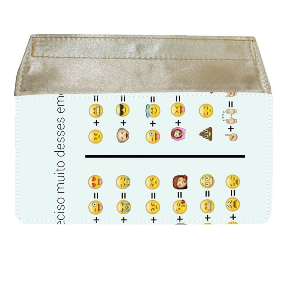 For Children Have Emoji 3 Fine For Women Wallets Cotton