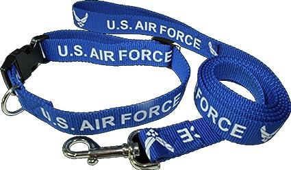 Amazon.com: US Air Force alas Perro Cuello y Correa ...
