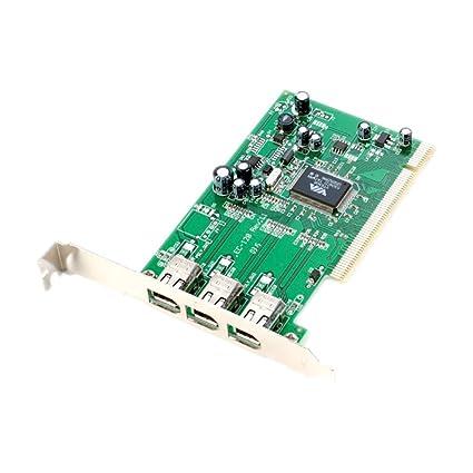 Amazon.com: 3-PORT PCI FIREWIRE CARD IEEE1394 5185-2937 REV ...