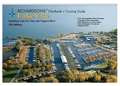 Lake Erie Chartbook + Cruising Guide - Richardsons' Maptech