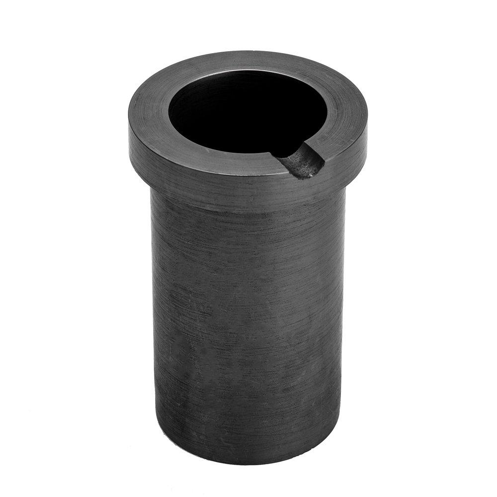 Docooler Crogiolo di fusione di grafite ad alta purezza per la fusione del metallo dargento oro