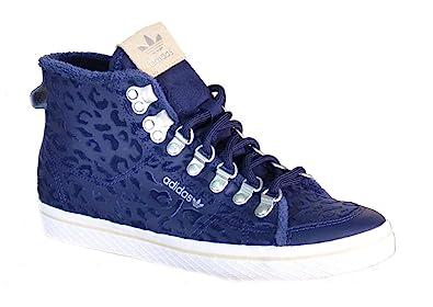 Femmes De W Honey Hautes Hook Cuir Sport Chaussures Bleu Adidas Kc31TlFJ