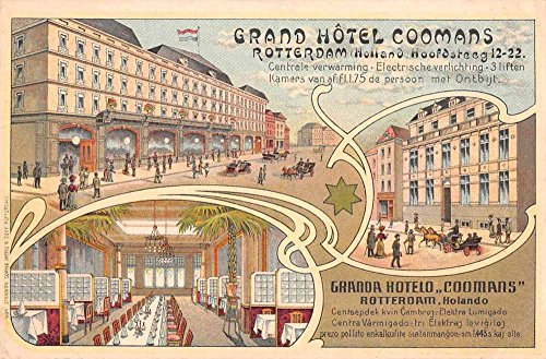therlands Grand Hotel Coomans Multiview Postcard J75616 ()