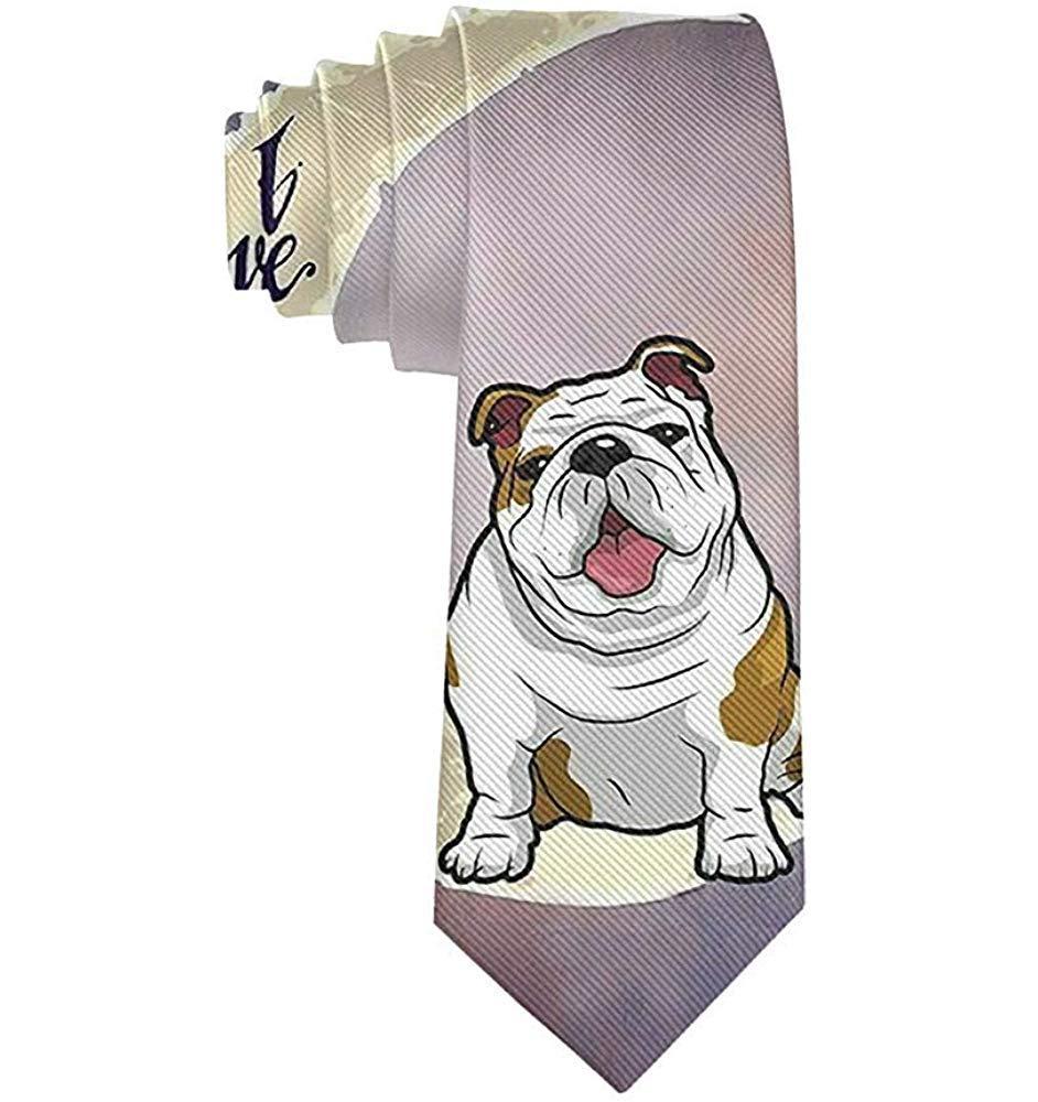 Corbatas divertidas Corbatas coloridas del dogo inglés Corbatas ...
