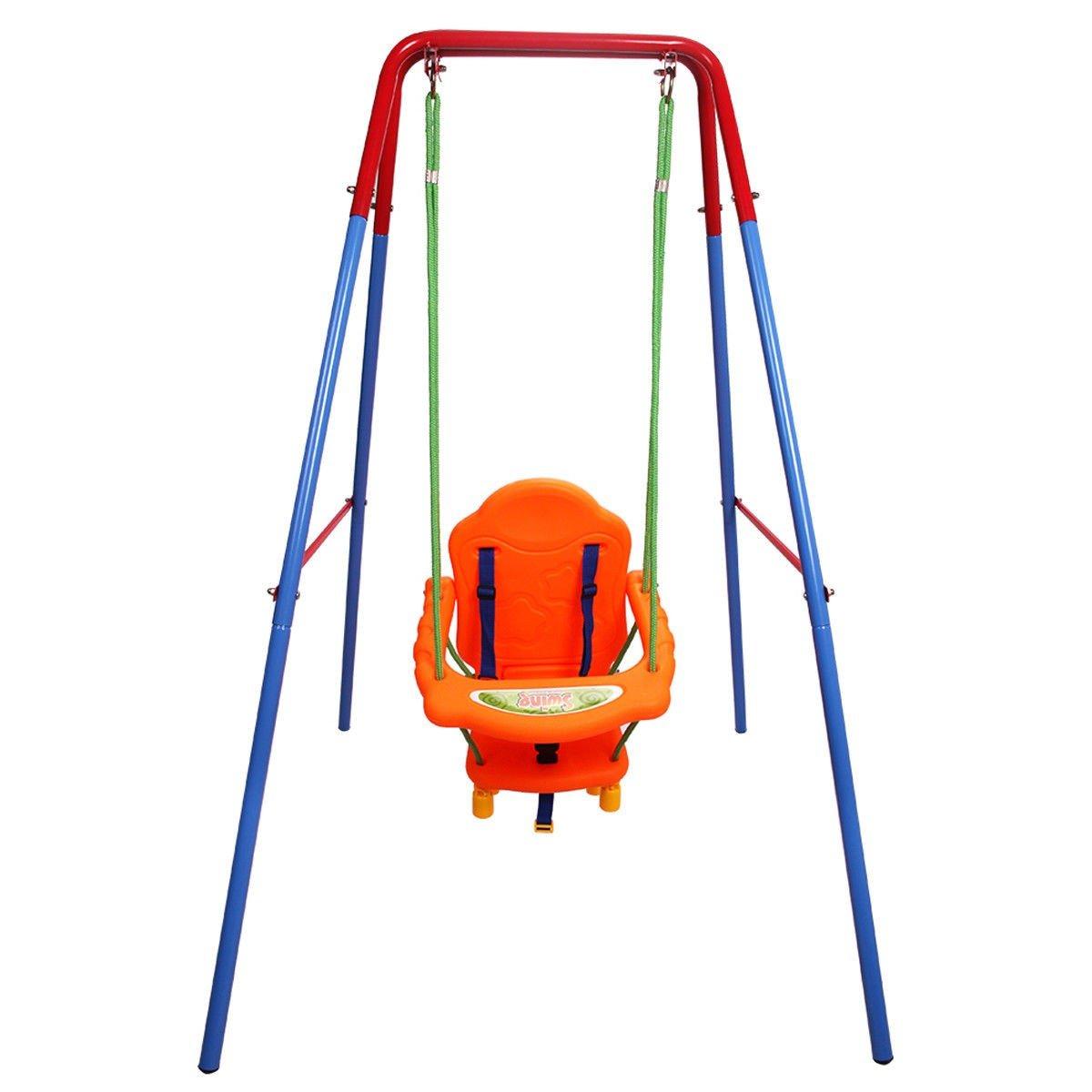 USA_BEST_SELLER 屋外 裏庭 遊び場 子供用 ブランコセット ロープ 本格的な遊び場体験 B07JQ2B5SL