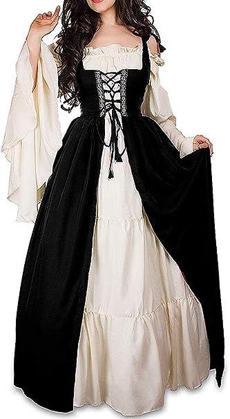 Amazon.com: Abaowedding - Disfraz de renacimiento medieval ...