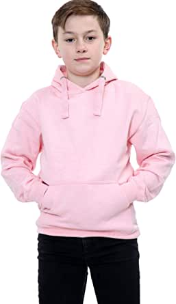 Parsa Fashions ® Sudadera con capucha unisex de forro polar para niños y niñas, con capucha, con cremallera de 1 año a 13 años