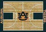 Auburn College Home Basketball Court Rug: 54''x78''